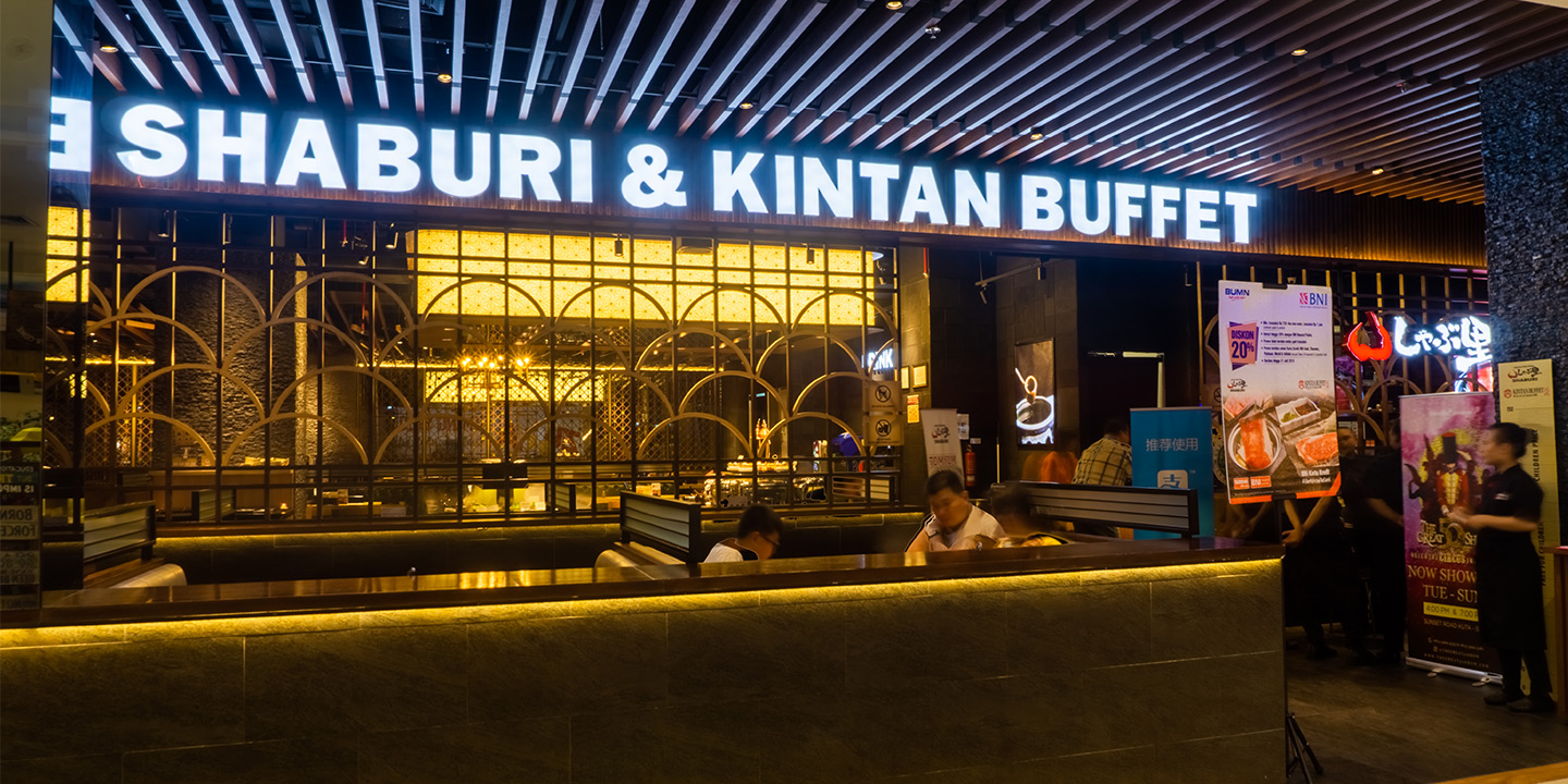 Now Open Shaburi Kintan at Trans Studio Mall Bali